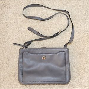 [NINE WEST] Grey Multi-Pocket Crossbody